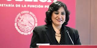 Eréndira Sandoval, Secretaria de la Función Pública, da Positivo a Coronavirus