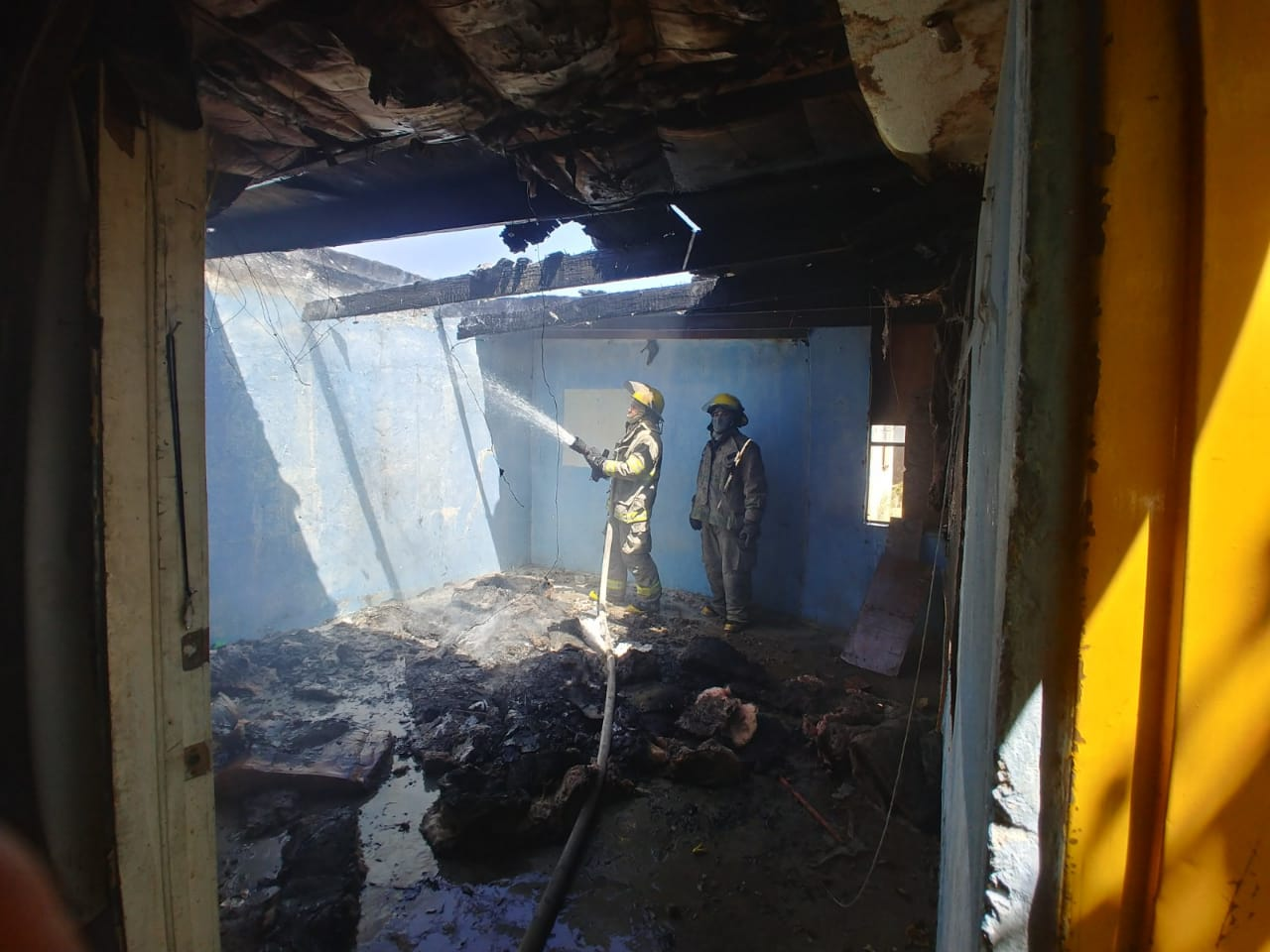 Se registran dos incendios en fincas abandonadas