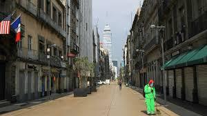 El 96 % de negocios del Centro Histórico de la Ciudad De México, permanecen cerrados