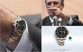 Critica a Ebrard por usar Rolex de mas de 14 mil dólares