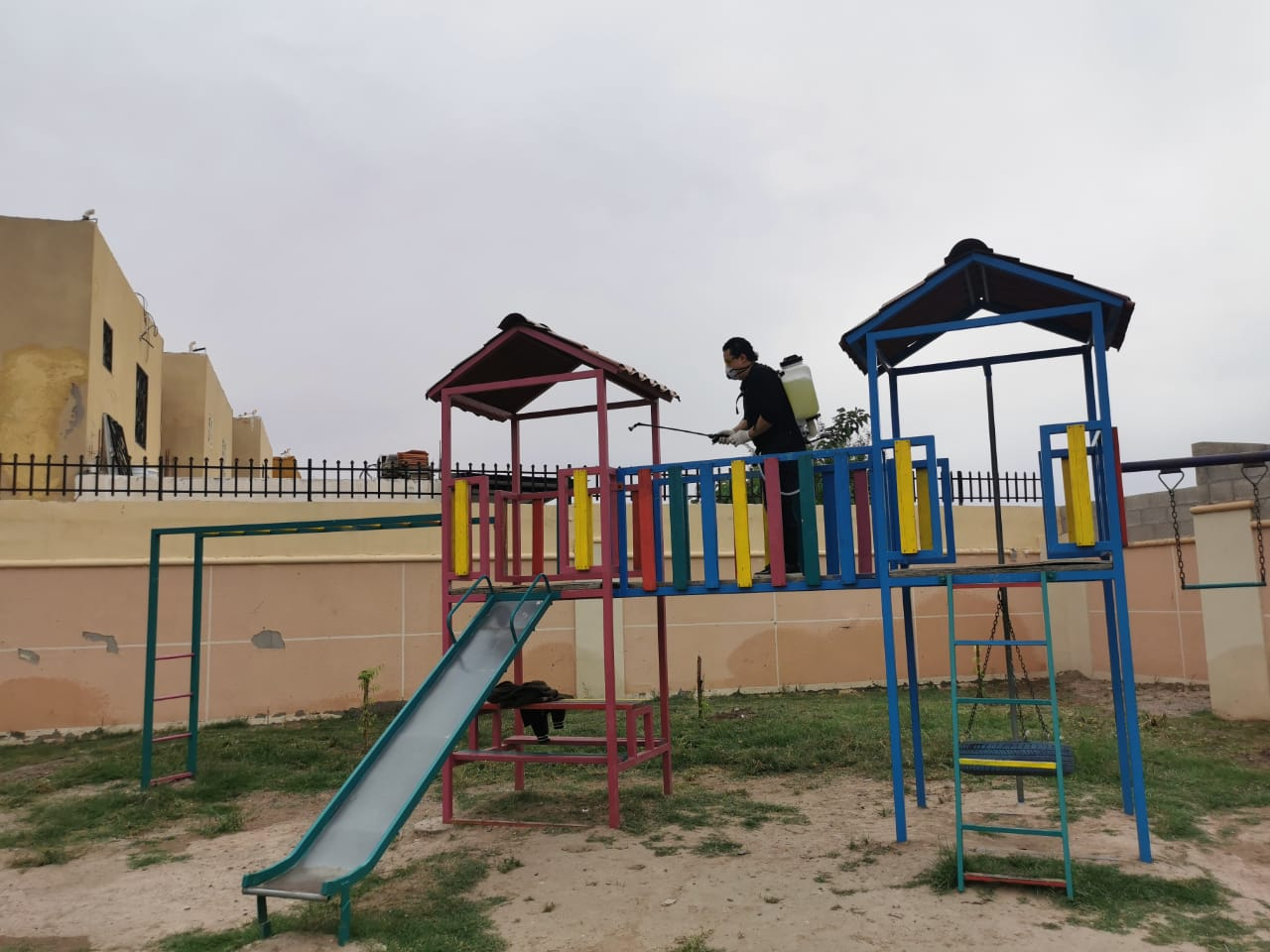Sanitiza Municipio Riberas del Bravo IX; suman 207 coloniasatendidas