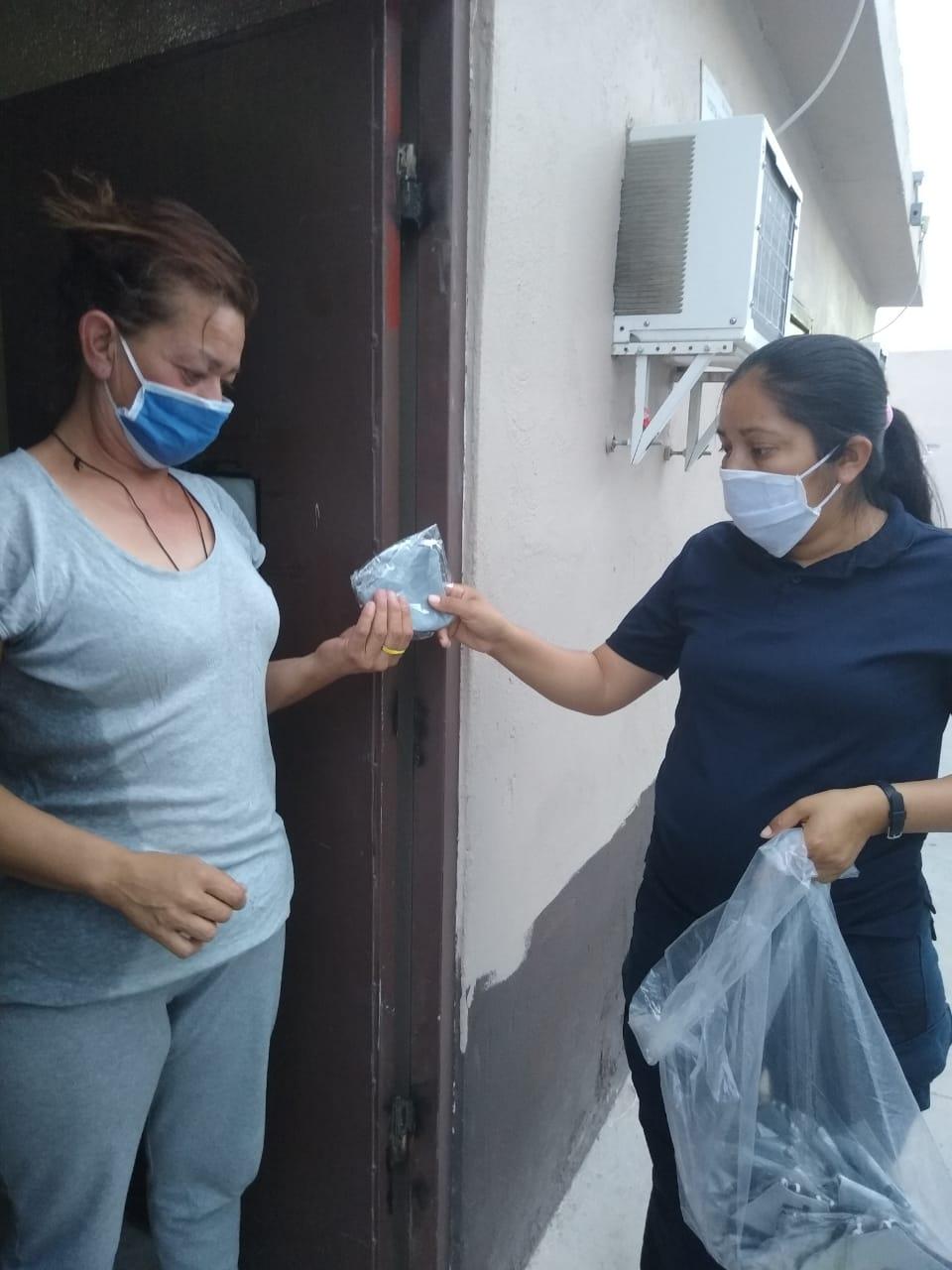 Reciben Ceresos de Ciudad Juárez insumos médicos contra pandemia