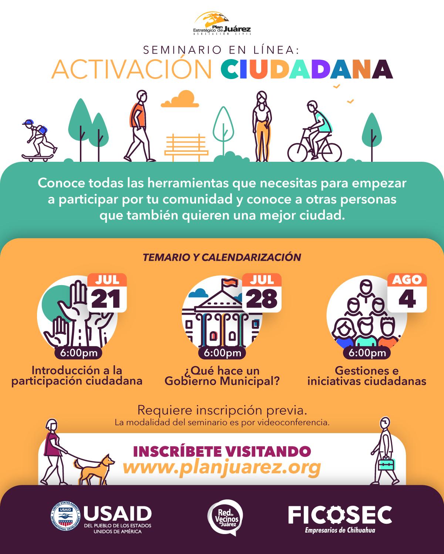 Seminario de activación Ciudadana
