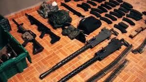Decomisan arsenal y droga al Cártel de Santa Rosa de Lima