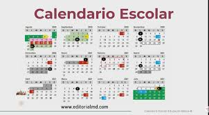 La SEP. Presento el calendario escolar definitivo, el cual tendrá vigencia para el ciclo 2020 – 2021 el cual se compone de 190 días de clases