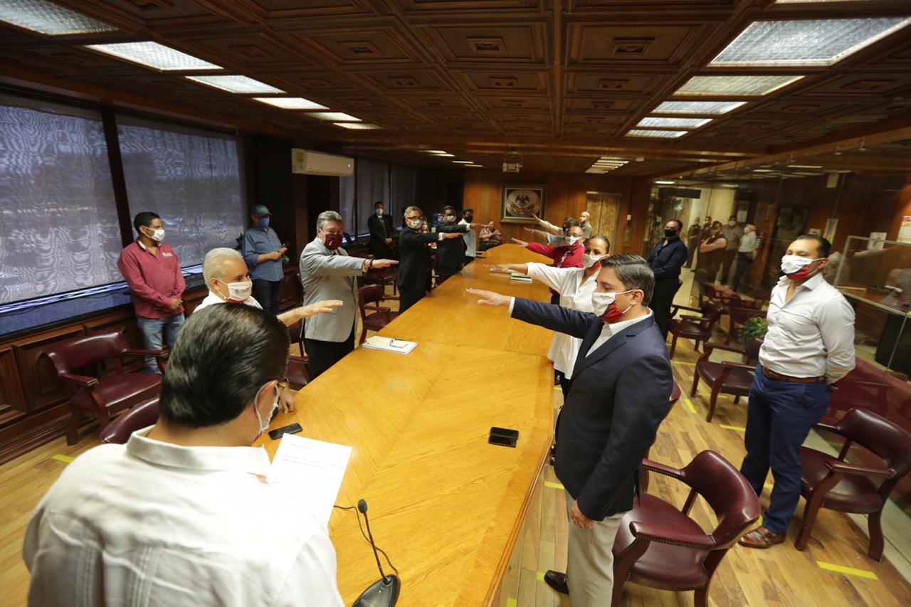 Alcalde tomó protesta a los integrantes del Comité de Patrimonio Inmobiliario del Municipio de Juárez