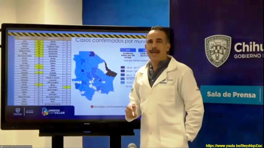Confirma Salud 171 contagios y 17 defunciones por COVID-19 en las últimas 24 horas
