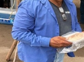 "Lleva DIF Municipal platillos de comida a productores y agricultores a la Presa ""La Boquilla"""