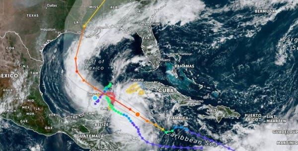 """Saldo Blanco en Quintana Roo y Yucatán tras paso del Huracán """"Delta"""" Protección Civil"""