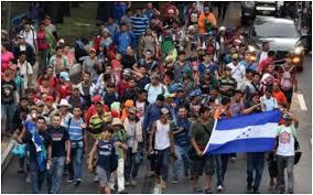 """El hambre y un muro de soldados acaban con el """"Sueño Americano """"de Hondureños"""