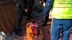 Policías rescatan a sujeto que intento suicidarse en la Alcaldía de Cuauhtémoc de la Ciudad de México