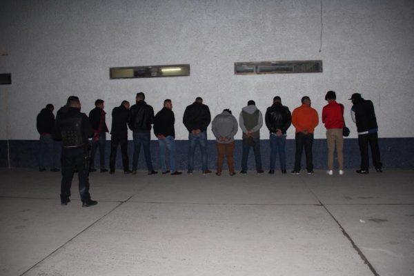 DETENCIÓN Y RESGUARDO DE 45 PERSONAS EN RUIDOSA FIESTA