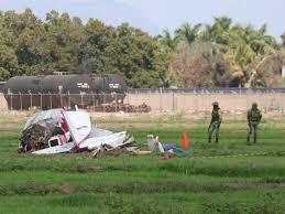 Se desploma avión pequeño en Sinaloa, una de las víctimas es nieto del Señor de Los Cielos