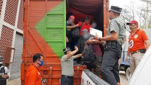 INM. Asegura a 329 migrantes Centroamericanos en Chiapas